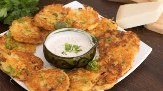 Cheese Potato Pancakes Recipe by Home Cooking Adventure