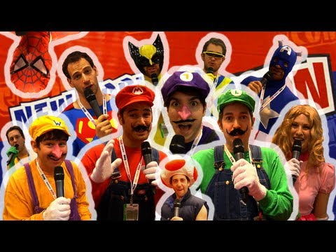 BEST COSTUMES AT COMIC CON 2012!!!
