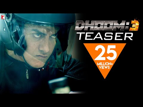 Videos Trailers DHOOM3 TEASER