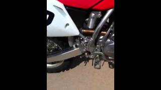 9. Honda crf150r start up