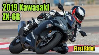 3. 2019 Kawasaki ZX 6R Review – First Ride