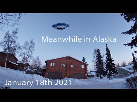 Meanwhile in Alaska January 18th 2021