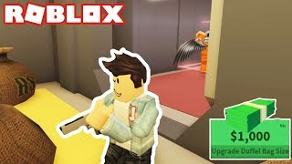 ROBBING THE BANK IN ROBLOX JAILBREAK