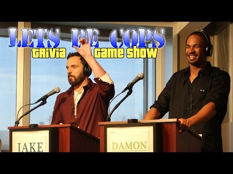 Let's Be Cops Trivia Game Show with Jake Johnson & Damon Wayans Jr