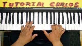 Una Vez Maz Danilo Montero Piano Tutorial Carlos
