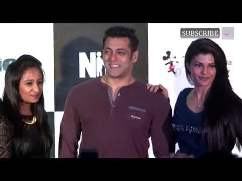 Salman Khan Jacqueline at Kick game launch part 6