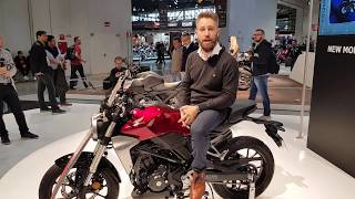 7. 2018 Honda CB300R & Honda CB125R Preview and walkaround | Neo Sport Cafe | EICMA