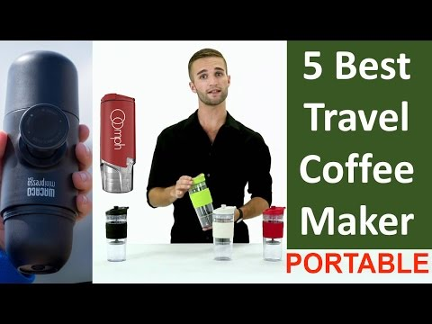 5 Best Coffee Makers  - Travel / Portable Coffee Maker Reviews