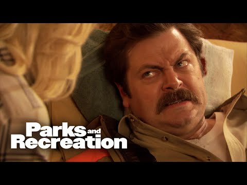 Ron Gets Shot in the Head - Parks and Recreation