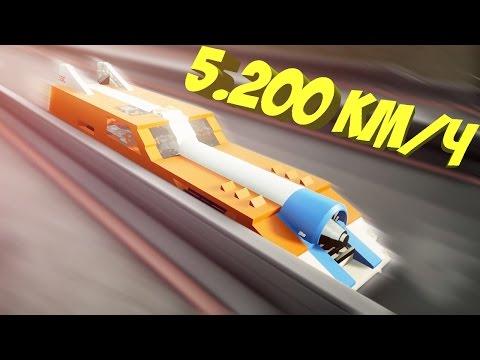 BRICK RIGS // 5200 км\\ч !!!