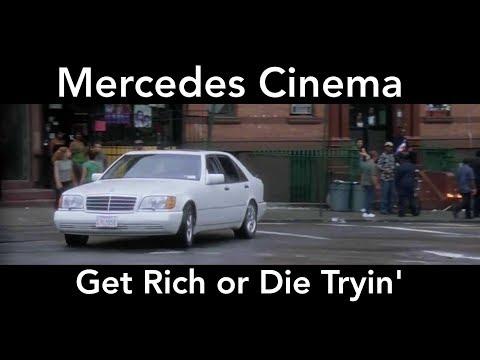 Mercedes Cinema - Get Rich or Die Tryin'  - S500 W140 Scene