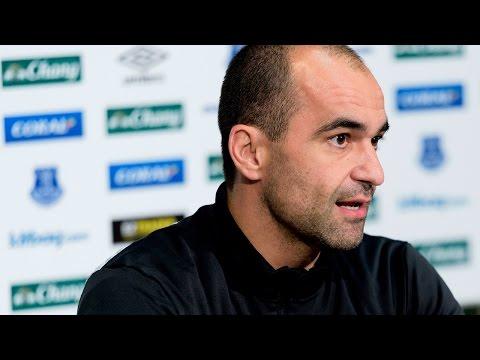 Video: Roberto Martinez Pre-Chelsea Press Conference