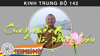 Kinh Trung Bộ 142 (Kinh Phân Biệt Cúng Dường) - Cúng dường và phước báo (20/09/2009)