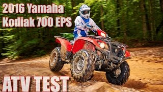 8. 2016 Yamaha Kodiak 700 EPS First Test Review