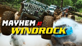 Windrock's Mud Claims Cars on the Great American Crawl