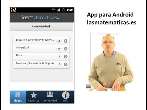 Video of LasMatematicas.es