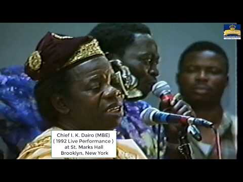 Chief I.K Dairo's Special For Nigerians In America Part 3 Of 4 Video. FANTASTIC !!!