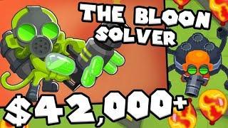 Bloons TD 6 - Super Glue Monkey - Glue Gunner Tower | JeromeASF