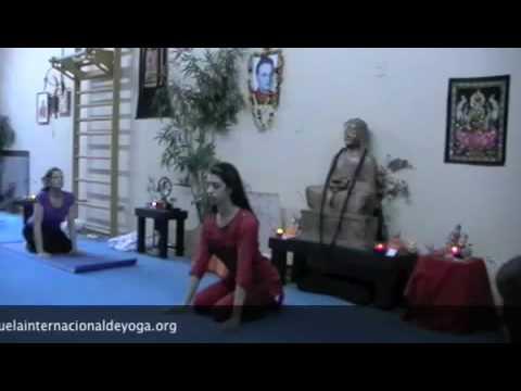 YOGA, Saludo del Leon, 1era parte – Purna Yoga Integral – Simha Namaskar
