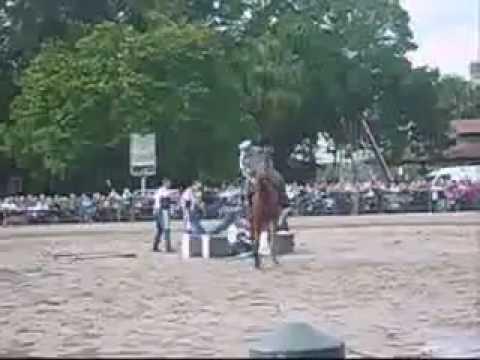 Horse Show Stunt FAIL