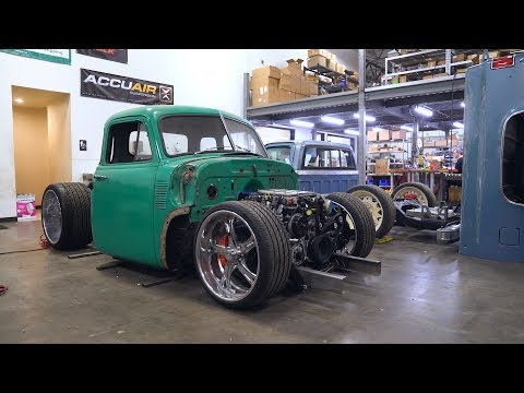 1953 Chevy 5 Window | Bagged Chevy 3100 | Gsi Machine & Fabrication | Accuair