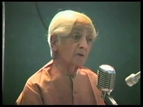 J. Krishnamurti Video: Is It Possible to Know Yourself When You Are Not Related to Anybody?