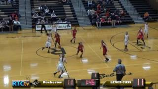 RHS Girls Basketball vs Lewis Cass