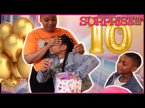 SURPRISING Our DAUGHTER for her 10th BIRTHDAY!!!!