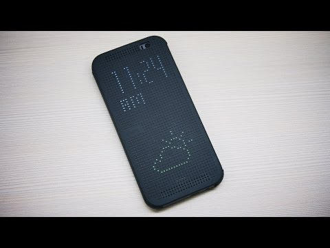 View - HTC One (M8) Dot View Cover Review Get your free audiobook!: http://www.audiblepodcast.com/techno HTC One (M8) First Impressions: http://tchno.be/1hoyYYI Whe...
