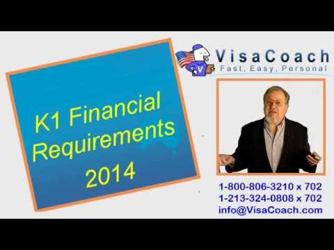 K1 Fiance Visa 2014 financial eligibility requirements FAQ#07