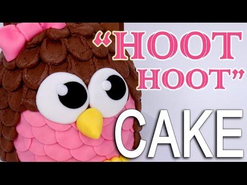 The Easiest OWL CAKE!