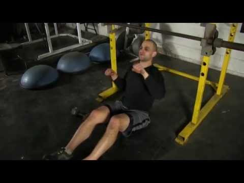 Hard Upper Body Strength Drill for Hockey Players (Can You Do This?)