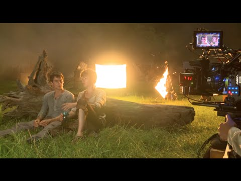 The Maze Runner: Behind the Scenes (Movie Broll) Part 1