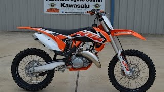 6. $6,699: 2015 KTM 125 SX 2 Stroke Motocross Bike Overview and Review