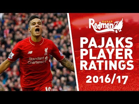 Liverpool FC Player Ratings 2016/17