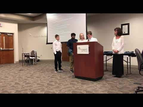 Video: Talking about Robinson Honor Choir