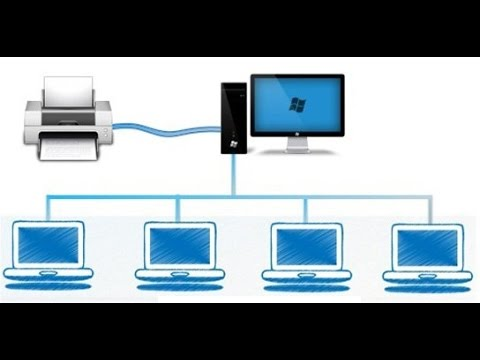 How to Share Printer Over Network - Windows 10, Windows 8.1 , Windows 8, Windows 7