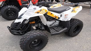 9. 2019 CAN-AM DS 90 ATV