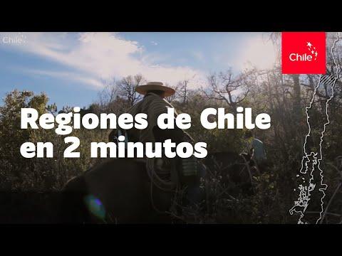 Regiones de Chile en 2 minutos