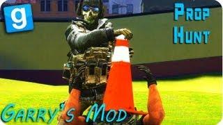 Gmod (Garry's Mod) - HIDE AND SEEK - PROP HUNT!