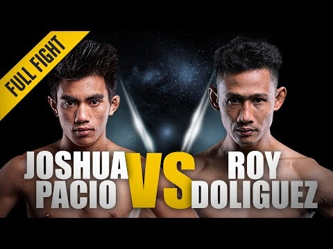 Joshua Pacio vs. Roy Doliguez Full Fight at One Championship - Legends of the World