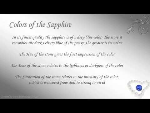 September Birthstone - Virgo: Sapphire