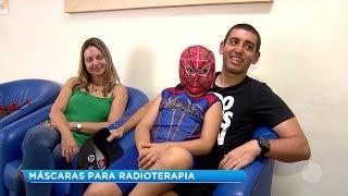 Marília: máscaras para radioterapia