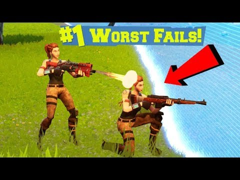 THE WORST FORTNITE PLAYERS IN THE ENTIRE WORLD.... (видео)