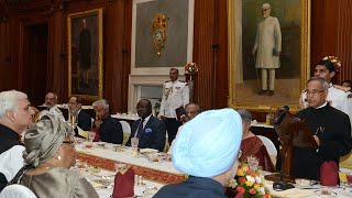 President Hosted A Banquet In Honour Of The President Of The Republic Of Liberia - 11-09-2013