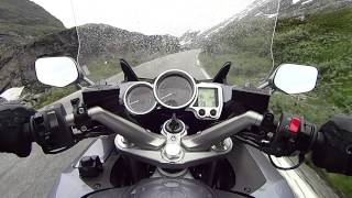6. Yamaha FJR1300 Geiranger to Dalsnibba gate Norway