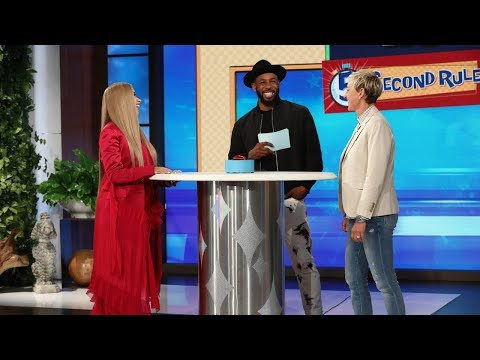 Ellen and Cardi B Play '5 Second Rule' (видео)