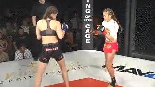 Andy Nguyen vs. Katie Saull - (2018.01.13) - /r/WMMA