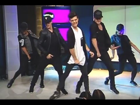 Abraham Mateo video All the girls (la la la)  - Estudio CM 17 Nov 2014