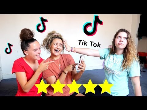 RATING MY STEP DAUGHTERS TIK TOK VIDEOS .. (SHE STARTS CRYING!)
